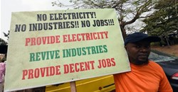 Several protests have trailed the privatisation of the power sector in Nigeria. Pius Utomi Ekpei/AFP via Getty Images