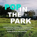 30 creatives to participate in POPArt's POP in the Park