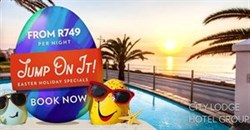 Jump at our Easter holidays promotion and save!