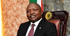Deputy president, David Mabuza