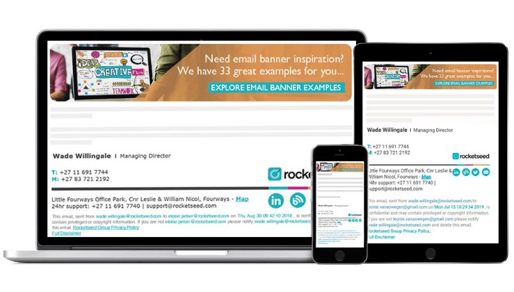 7 reasons to join Rocketseed's email signatures partner program