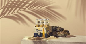 Corona pilots beer packaging made using surplus barley
