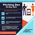 Do you have an innovative idea? Applications for our annual Innovation Pitching Den are now open!