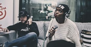 Rob Forbes and Fikile 'Fix' Moeti say farewell to 5FM