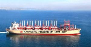 Karpowership vessel, Kaya Bey