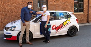 Hot 91.9FM drives Charisse in the 2021 Pozidrive VW Challenge