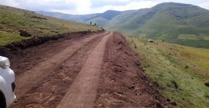 Polihali Western Access Roads project in Lesotho