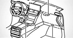 Leaked: Toyota Land Cruiser 300 cabin