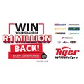 Drive off with your share of R1m in premium wheels and tyres