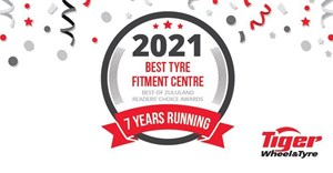 Another win for Tiger Wheel & Tyre