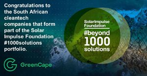 SA green companies among 1,000 global profitable cleantech solutions