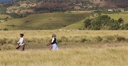 The community of Xolobeni village, in the Eastern Cape, succeesfully challenged the mining of their land in the High Court in 2018. Rogan Ward © Sunday Times.
