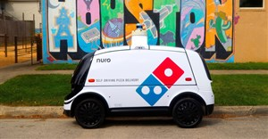 Domino's trials self-driving pizza delivery robot