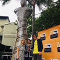 Simon 'Mabhunu' Sabela Award statue unveiled at Afda Durban