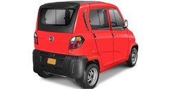 Does the viral Bajaj Qute 'car' really cost R150 per month?