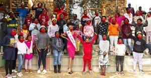 Miss Soweto donates 120 pairs of school shoes, stationery packs to Rena Le Lona Creative Centre for Children in Soweto