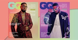 How GQ South Africa used the Samsung Galaxy S21 Ultra 5G smartphone to shoot its dynamic dual covers