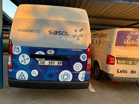 NWU's Mahikeng Campus Science Centre receives another mobile lab