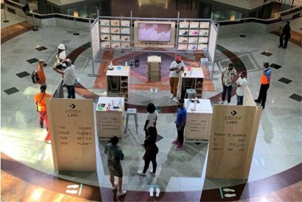 Sandton City activation space