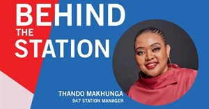 Behind the station: Thando Makhunga