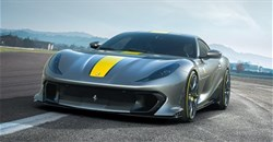 Ferrari 812 Competizione twins debut