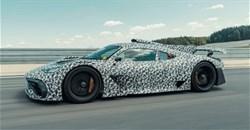 Mercedes-AMG One spied testing at Nurburgring