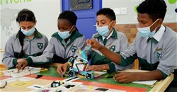 Athlone primary school receives a 4IR Stream Lab, enabling coding and robotics learning
