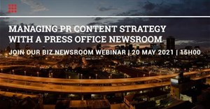 Book now: Newsroom Management for PR and Brands: Webinar | 20 May 2021