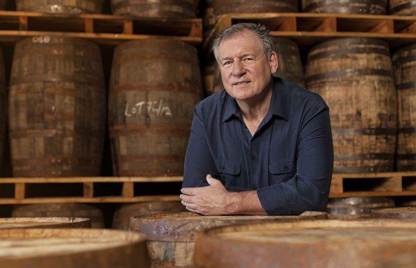 Three Ships Whisky master distiller Andy Watts