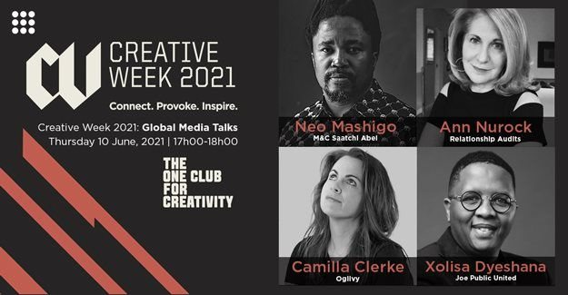 The One Club offers special SA pricing for all-access to Creative Week 2021