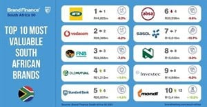 South Africa's Top 50 most valuable brands for 2021