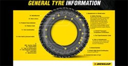 Knowing what the tyre markings on your tyre mean
