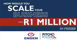 Pitch your way to over R1m in prizes!