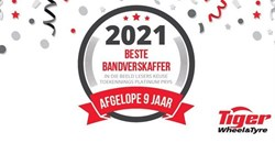 Tiger Wheel & Tyre takes platinum spot in Beeld Readers' Choice Awards