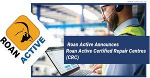 Roan Active announces Roan Active Certified Repair Centres