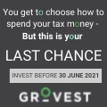 South African taxpayers' last opportunity to choose where their tax money goes - invest before 30 June