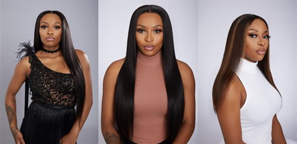 DJ Zinhle launches wig brand Hair Majesty
