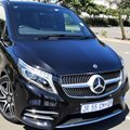 Road tripping in the Mercedes V300d