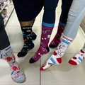 Wear your sassiest mismatched socks to support our healthcare workers