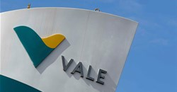 The logo of the Brucutu mine owned by Brazilian mining company Vale SA is seen in Sao Goncalo do Rio Abaixo, Brazil February 4, 2019. Reuters/Washington Alves