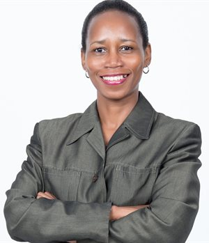 Takalani Netshitenzhe, chief officer of corporate affairs for Vodacom Group, executive director in Vodacom South Africa, and chairperson of the Vodacom Foundation