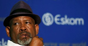 Eskom's former chairman Jabu Mabuza looks on during the release of the company's 2018/19 interim results at its head office at Megawatt Park, in Sunninghill, South Africa, November 28, 2018. Reuters/Siphiwe Sibeko/File Photo