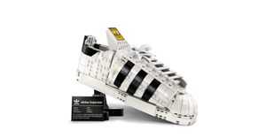 Adidas and Lego collab on brick-built Superstar sneaker
