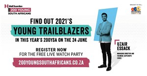 The Mail & Guardian 200 Young South Africans 2021 in partnership with the National Lotteries Commission