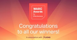 Warc announces Awards for Effectiveness winners