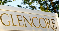 The logo of commodities trader Glencore is pictured in front of the company's headquarters in Baar, Switzerland, July 18, 2017. Reuters/Arnd Wiegmann