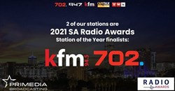 Primedia Broadcasting scoops 2 Station of the Year finalists in 2021 SA Radio Awards