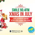 """Smile 90.4FM launches """"Xmas in July""""... And you could win a car"""