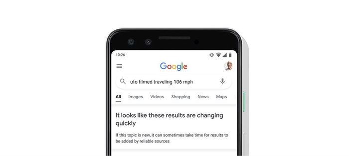 Google to add a label to fast changing search results