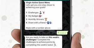 Virgin Active Quest receives over 6 million interactions on WhatsApp